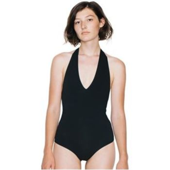 Women's cotton Spandex halter leotard (RSA8312) Vignette