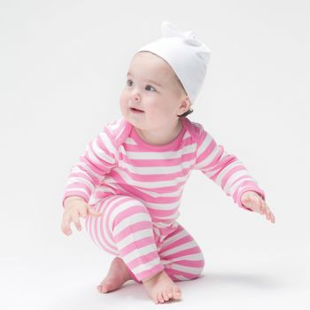 Baby one-knot hat Vignette