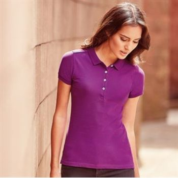 Women's stretch polo Vignette