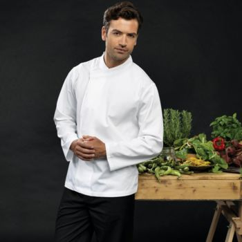 Culinary pull-on chef's long sleeve tunic Vignette