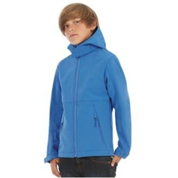 B&C Hooded softshell /kids Vignette