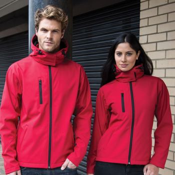 Core TX performance hooded softshell jacket Vignette